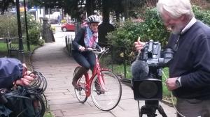 Otley 2 Connie on bike