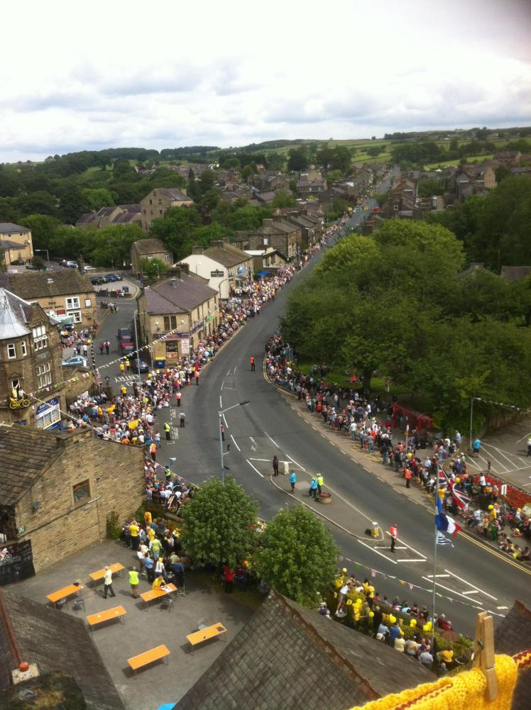 RW July 18 Silsden view from tower top