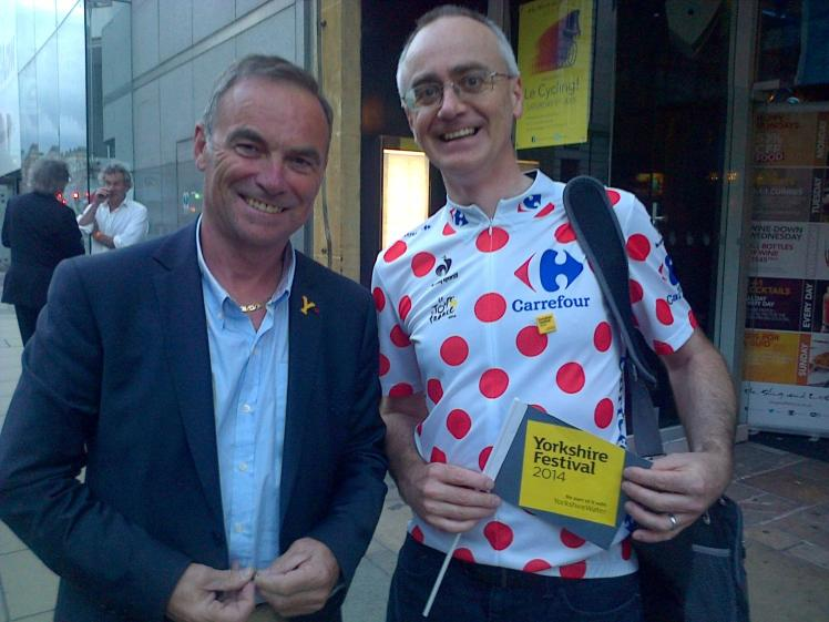 RW July 34 Bernard Hinault with Rod