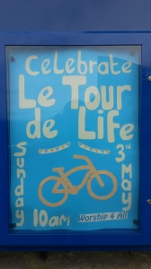 65 52 Norton church Le Tour de Life service