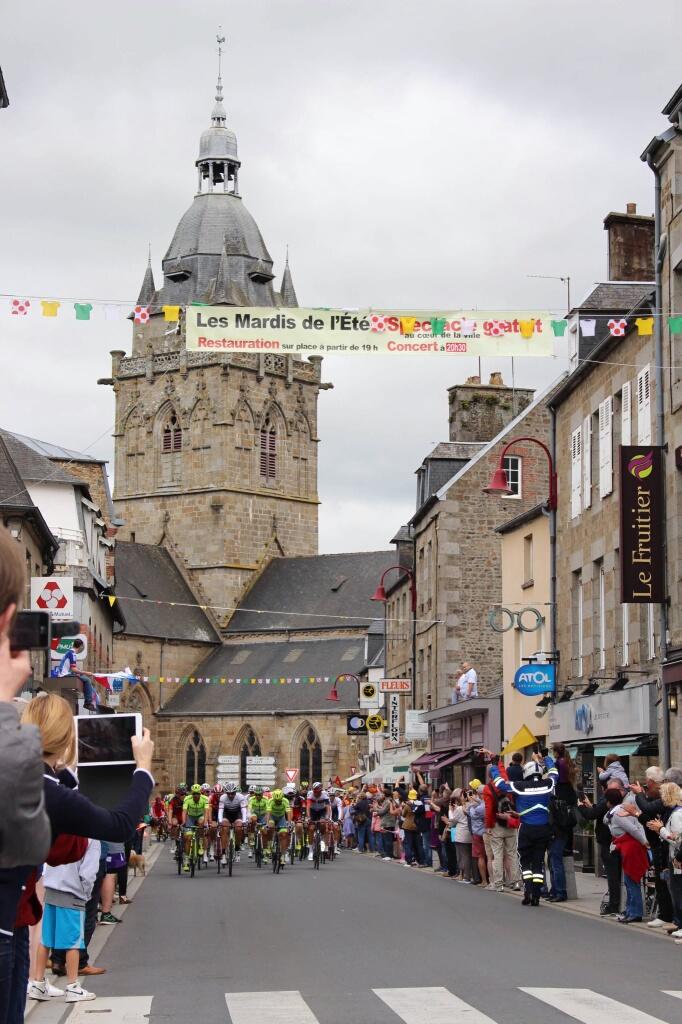 TdF2016 02 Villedieu les Poeles Normandy 41TourStages
